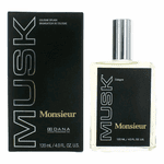 Monsieur Musk by Dana, 4 oz Cologne Splash for Men