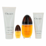 Obsession by Calvin Klein, 4 Piece Gift Set for Women
