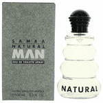 Samba Natural by Perfumer's Workshop, 3.3 oz Eau De Toilette Spray for men.