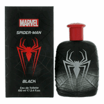 Spiderman Black by Marvel, 3.4 oz Eau De Toilette Spray for Men