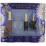 The Elizabeth Taylor Collection by Elizabeth Taylor, 4 Piece Mini Variety Set for Women