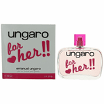 Ungaro for Her by Emanuel Ungaro, 3.4 oz Eau De Toilette Spray for Women