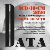 ICD-10-CM 2020 Home Health Data File