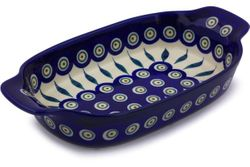 "10"" Rectangular Baking Dishes with Handles"