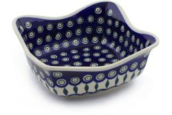 "8"" Fluted Bowls, Square"