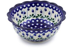 """Fluted Bowls 8.25"""""""