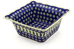 """9"""" Fluted Bowls, Square"""