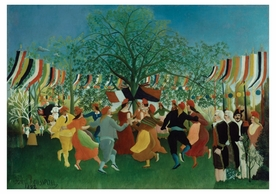Henri Rousseau: A Centennial of Independence Notecard