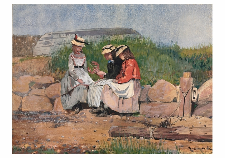Winslow Homer: A Fisherman's Daughter Notecard