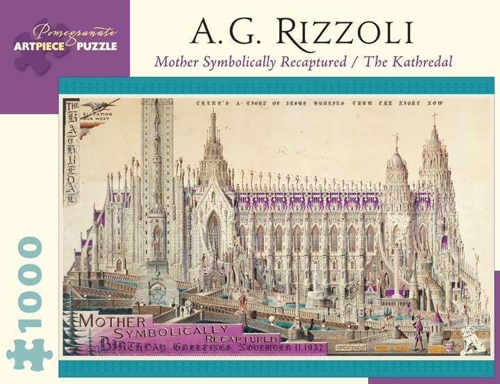 A. G. Rizzoli: Mother Symbolically Recaptured 1,000-piece Jigsaw Puzzle