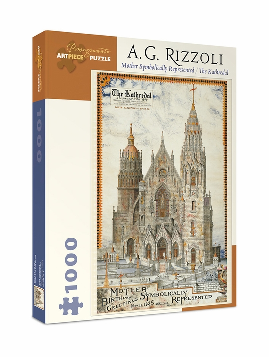 A. G. Rizzoli: Mother Symbolically Represented 1,000-piece Jigsaw Puzzle