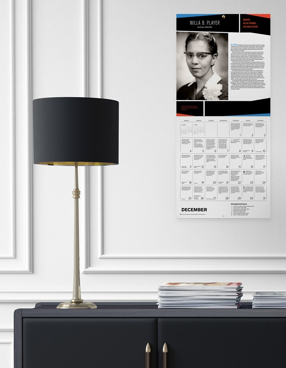 A Journey into 365 Days of Black History 2022 Wall Calendar