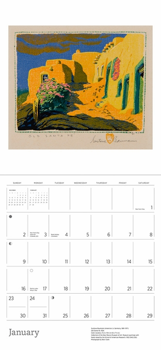 A Small, Untroubled World: The Art of Gustave Baumann 2022 Wall Calendar
