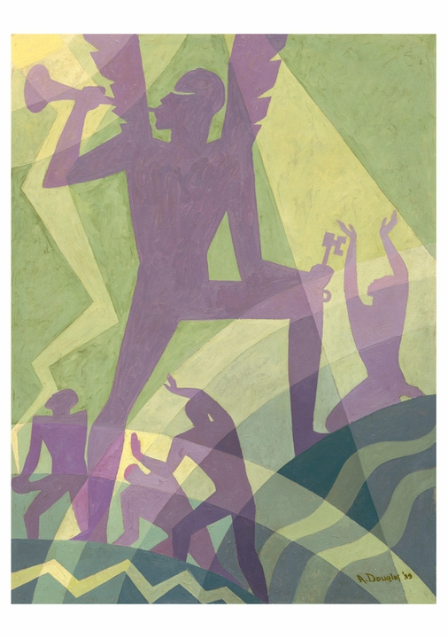 Aaron Douglas: The Judgment Day Notecard