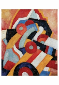 Marsden Hartley: Abstraction Notecard