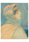 Albert Prentice Button: Woman of the East Notecard