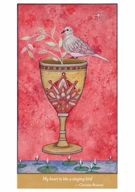Alexandra Eldridge: Ace of Cups Notecard