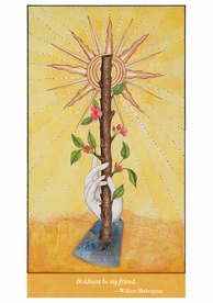 Alexandra Eldridge: Ace of Wands Notecard