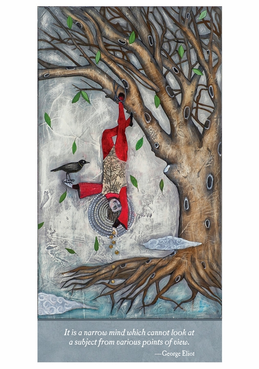 Alexandra Eldridge: The Hanged Man Notecard