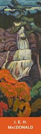 J. E. H. MacDonald: Algoma Waterfall Bookmark