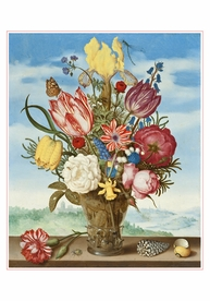 Ambrosius Bosschaert: Bouquet of Flowers Small Boxed Cards