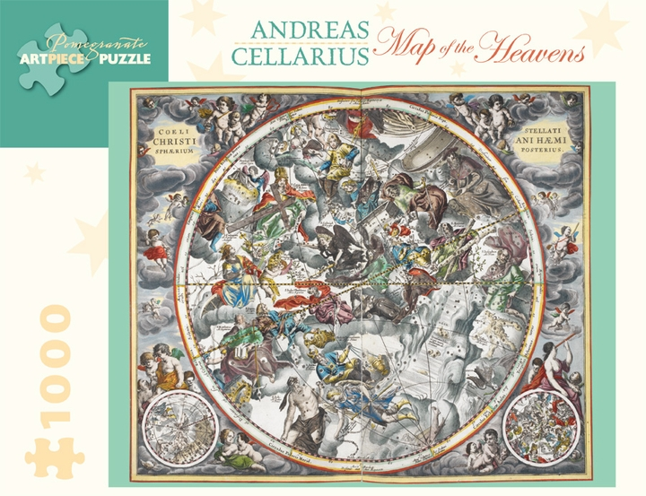 Andreas Cellarius: Map of the Heavens 1,000-piece Jigsaw Puzzle