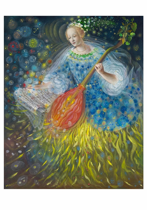 Anelia Pavlova: The Musicians Boxed Notecards