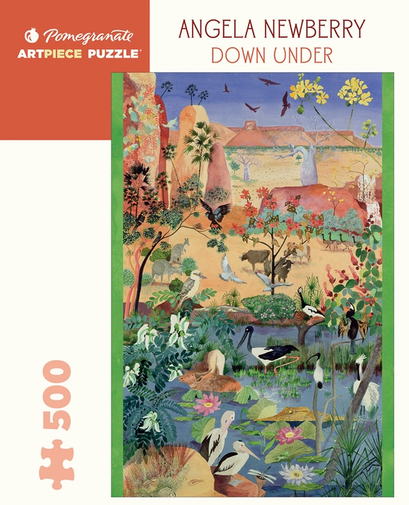 Angela Newberry: Down Under 500-Piece Jigsaw Puzzle