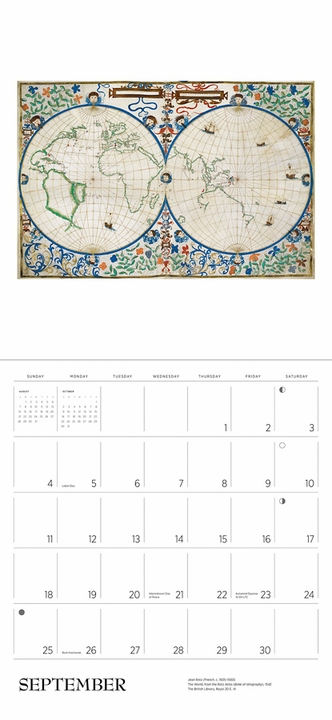 Antique Maps 2022 Wall Calendar