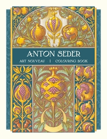Anton Seder: Art Nouveau Coloring Book