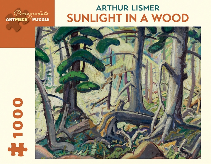 Arthur Lismer: Sunlight in a Wood 1,000-piece Jigsaw Puzzle