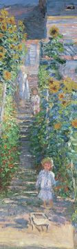 The Artist's Garden at Vétheuil Bookmark