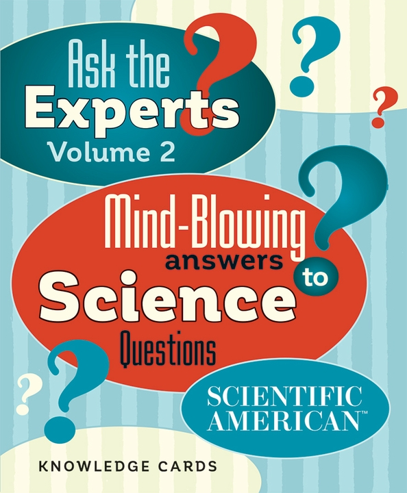 Ask the Experts: Science Questions Vol. 2 Knowledge Cards