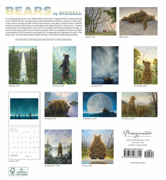 Bears by Bissell 2020 Wall Calendar