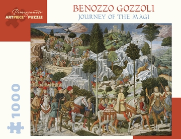 Benozzo Gozzoli: Journey of the Magi 1000-Piece Jigsaw Puzzle