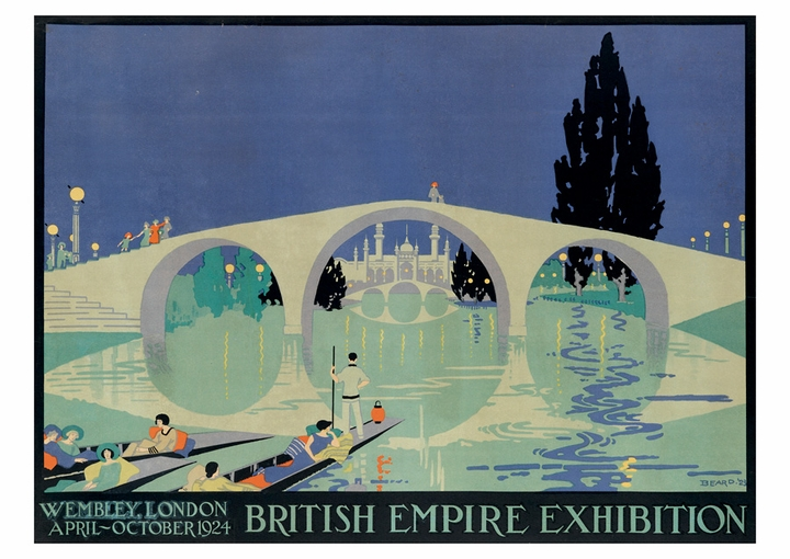 British Empire Exhibition Postcard