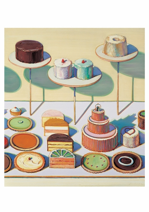 Cakes and Pies Notecard