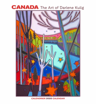 Canada: The Art of Darlene Kulig 2020 Wall Calendar
