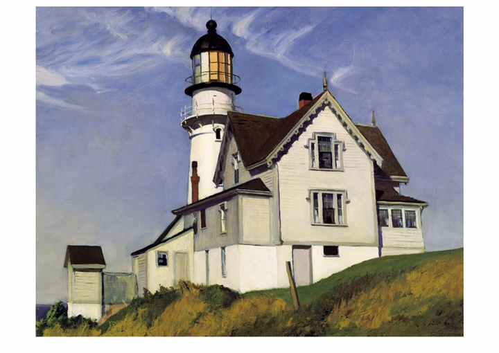 Edward Hopper: Captain Upton's House Postcard