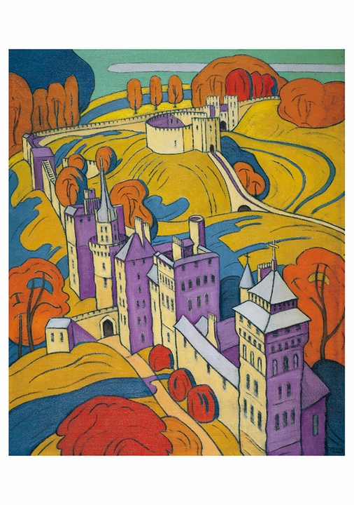 Claude Francis Barry: Cardiff Castle Notecard