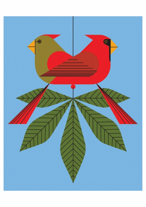 Cardinals Boxed Notecards