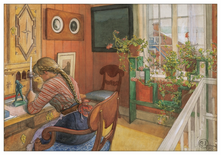 Carl Larsson Notecard Folio