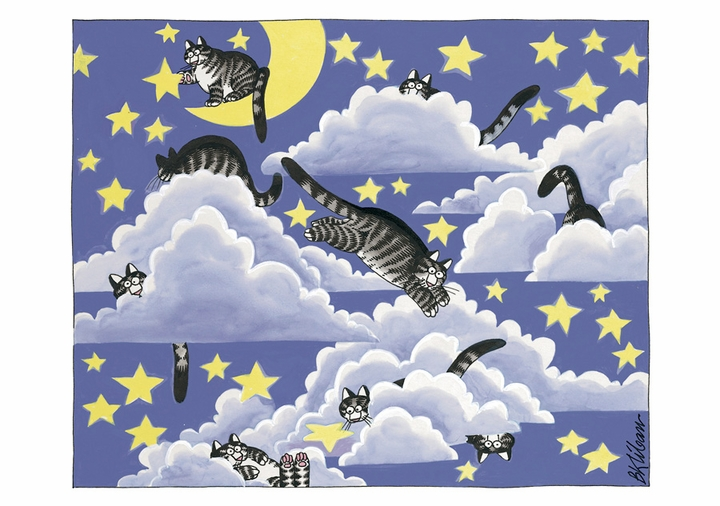 B. Kliban:  in the Clouds Notecard