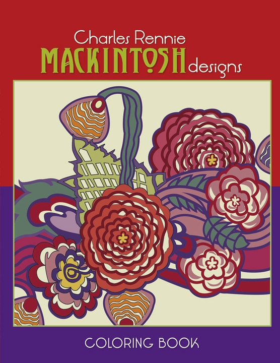Charles Rennie Mackintosh Designs Coloring Book