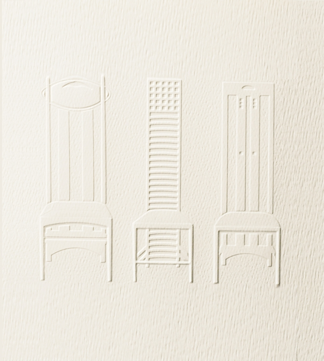 Charles Rennie Mackintosh Embossed Boxed Cards