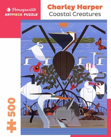 Charley Harper: Coastal Creatures 500-Piece Jigsaw Puzzle