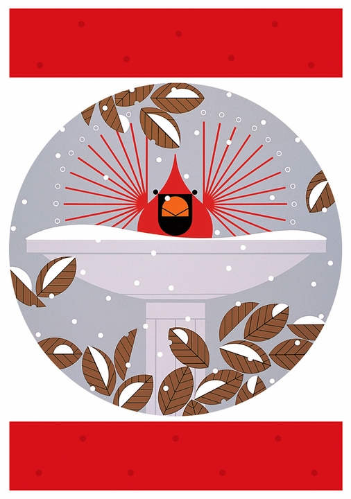 Charley Harper: Cool Cardinals Holiday Card Assortment
