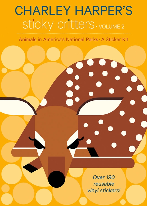 Charley Harper's Animals in America's National Parks Sticker Kit