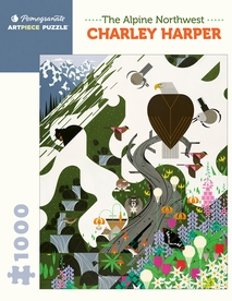 Charley Harper: The Alpine Northwest 1000-piece Jigsaw Puzzle
