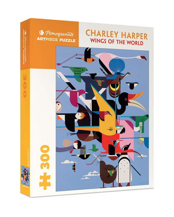 Charley Harper: Wings of the World 300-piece Jigsaw Puzzle
